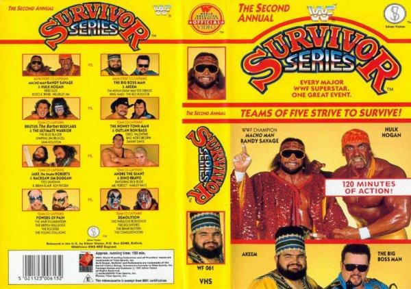 WWE Survivor Series 1988 Résultats