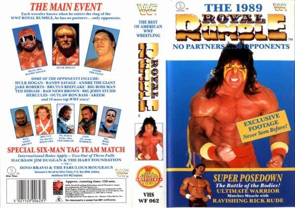 WWE Royal Rumble 1989 Résultats