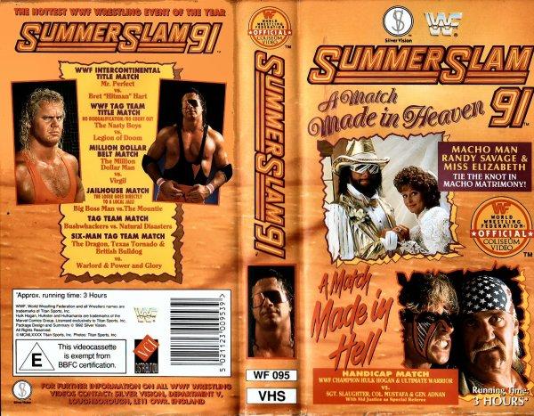 WWE SummerSlam 1991 Résultats