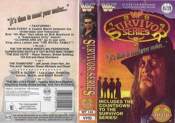 WWE Survivor Series 1994 Résultats