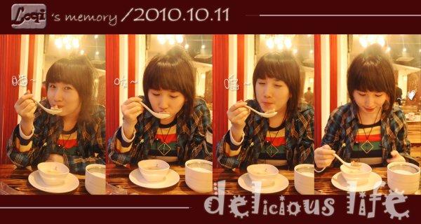 enjoying food