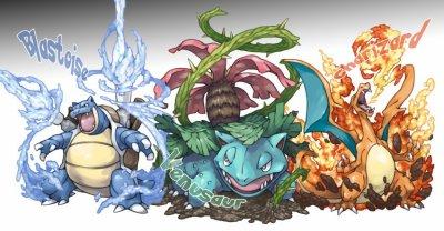 Tortank florizarre et dracaufeu blog de i love pokemon11 - Tortank pokemon y ...