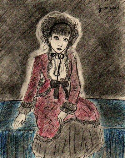 dessins pour le TPE d' Evangeline de Sévigny