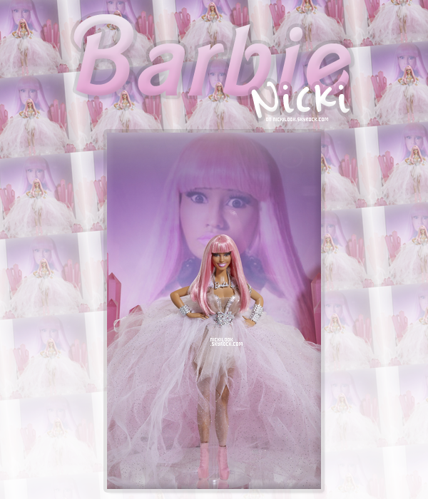 Une Barbie Nicki Minaj.