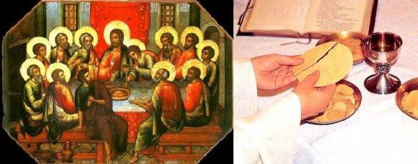 Le vin le sang de Christ et l'Hostie le corps de Christ?
