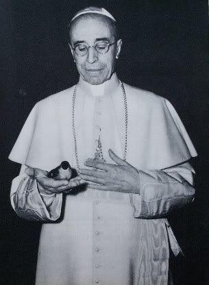 Pape Pie XII de la second guerre mondial envers les Juifs