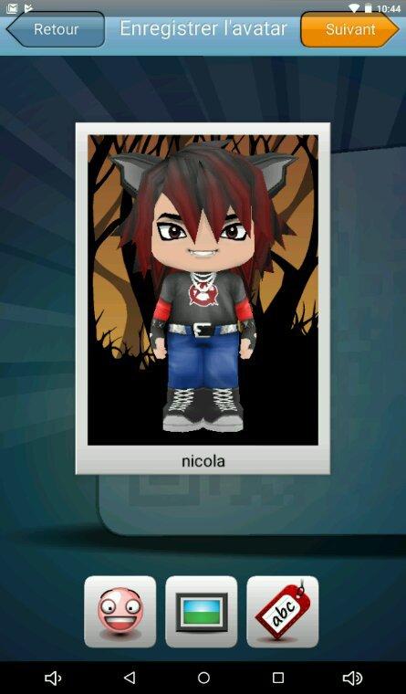 Encore nicola en avatar