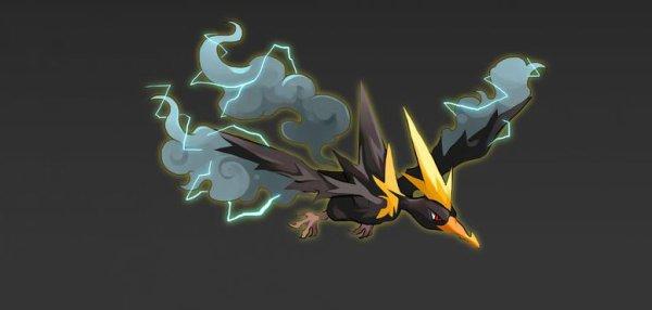 oiseau electrique