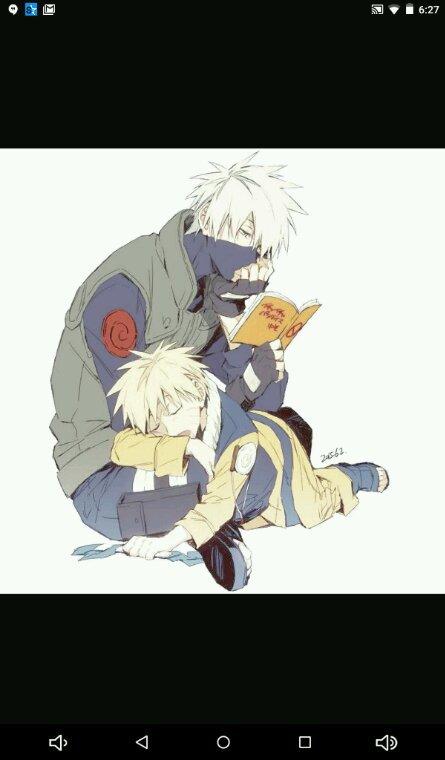 Naruto et kakashi