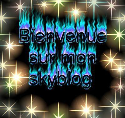 Bienvenue sur mon Skyblog