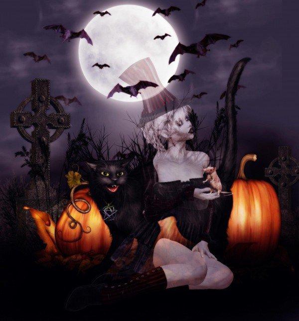 bon halloween a tous bisous.............