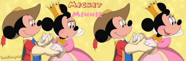 Fiche Personnages : Mickey Mouse ♥ Minnie Mouse
