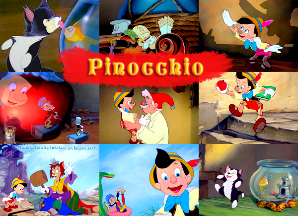 Fiche Film : Pinocchio (1940).