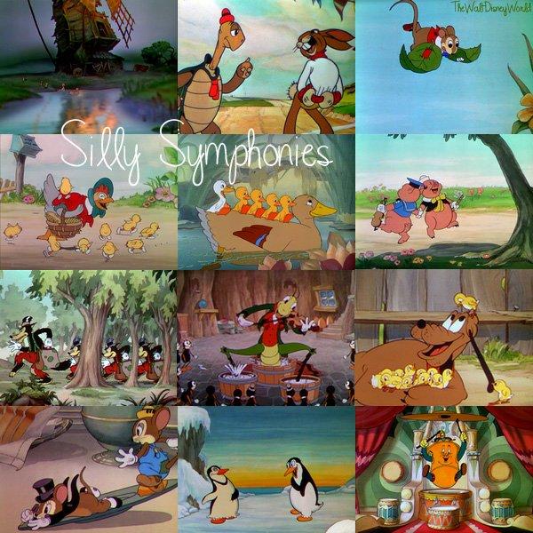 Les trésors de Walt Disney : Silly Symphonies (Les contes musicaux).