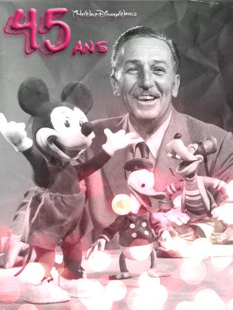 Article Hommage : 45 ans que Walt Disney a quitté ce Monde.