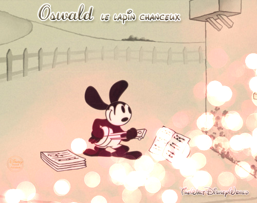 Fiche Personnage : Oswald le Lapin Chanceux.
