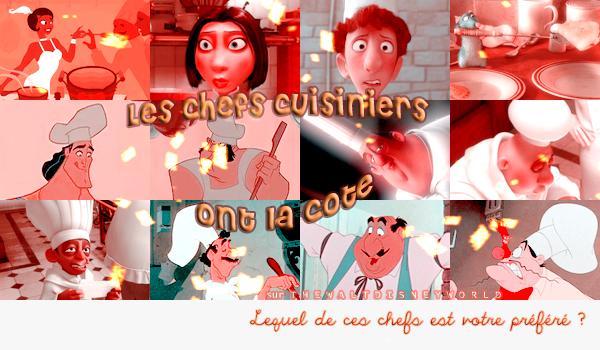 Fiche Thème : Les Chefs Cuisiniers Disney.