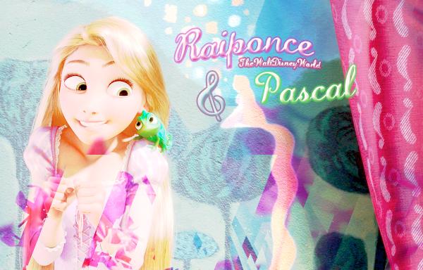 Les inséparables...  de Janvier 2012 : Raiponce & Pascal ♥.
