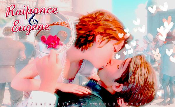 Scène coup de  ♥ : Le baiser de Raiponce et Flynn.