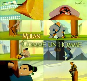 Fiche Chanson (B.O.) : Comme un homme (Mulan).