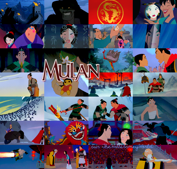 Fiche Film : Mulan (1998).