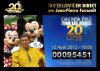 20 ans de DisneyLand Paris : DisneyLand Paris a aujourd'hui 20 ans !