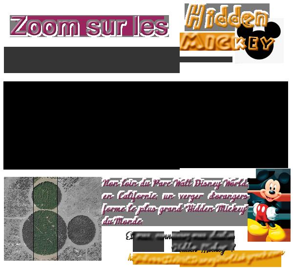 """Enquête / Fiche Thème : Les """"Hidden Mickey""""."""
