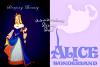 Disney Duel : Aurore ; La belle au bois dormant / Alice ; Alice au pays des merveilles.