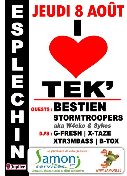 I LOVE TEK' 2013 - ESPLECHIN