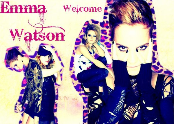 ••• Welcome, with Emma Watson