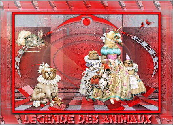 LEGENDE DES ANIMAUX