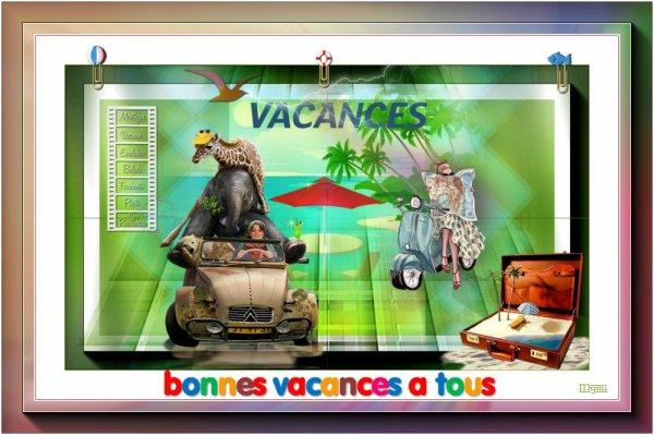 VACANCES ... ON SORT LA CARAVANE