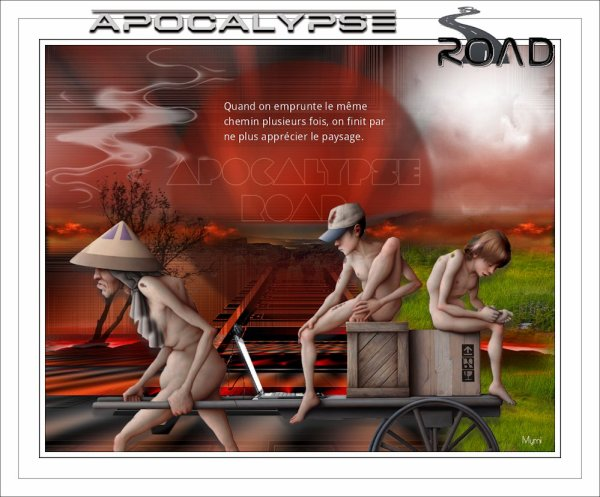 APOCALYPSE ROAD DE RENEE