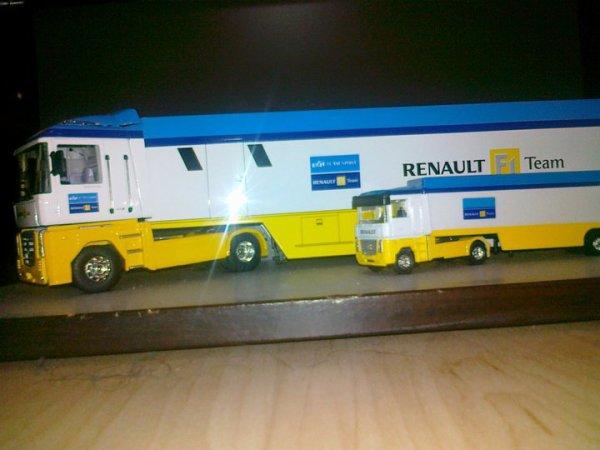 mon magnum renault f1 team de chez eligor et son petit frere