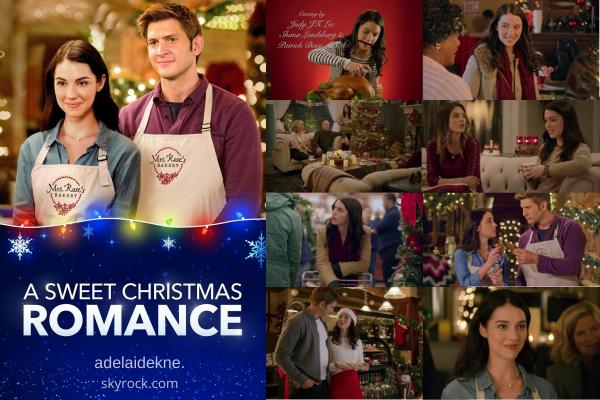 """De nouvelles photos de """"A sweet christmas romance"""" dans lequel Adelaide joue Holly sont apparues !  Le film est sortie en 2019, vous pouvez le visionner en streaming."""