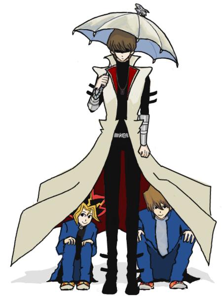 Le manteau de Kaïba.