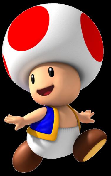 Toad (il est trop choupinou!) ^^