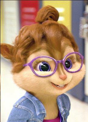 Bout Ouvert Fille Chipmunks
