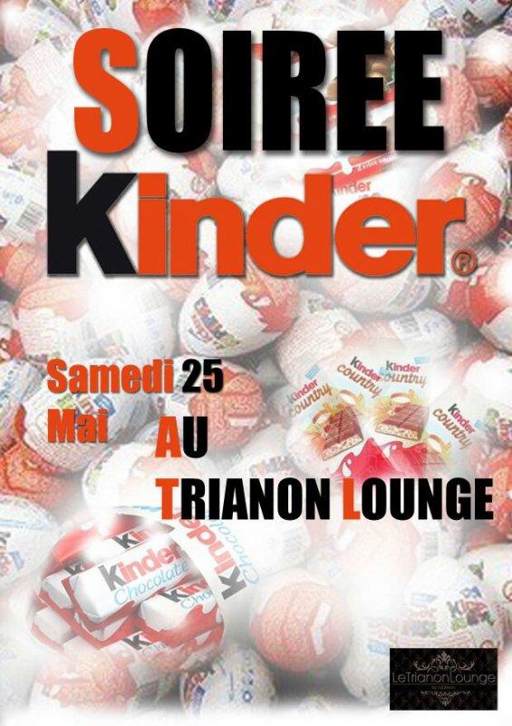 Soirée du 25/05/2013 : KINDER PARTY