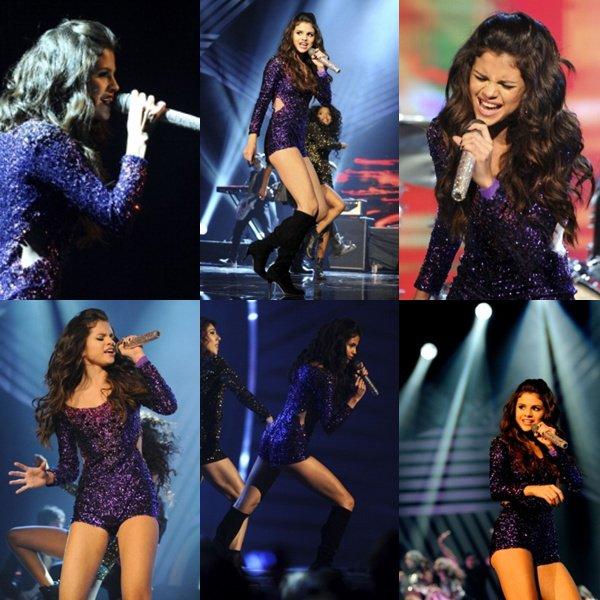 Article spécial  MTV Europe Music Award présenter par Selena le 6 Novembre