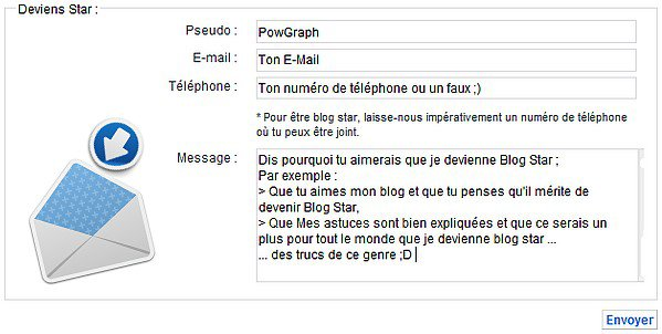 PowGraph > Blog Star