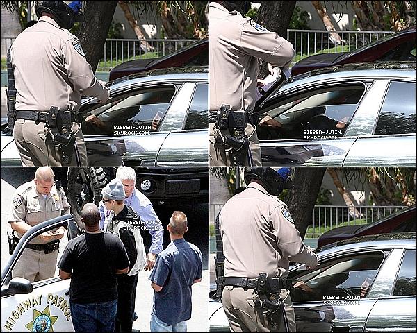 - 06/07/12 : Le Pauvre Justin Drew a était arrêter part la police pour uneexcès de vitesse àLos Angeles. -