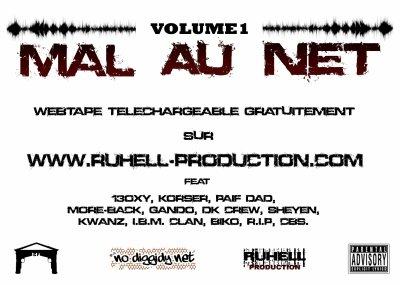 PARTENAIRE: RUHELL PRODUCTION WEB TAPE  MAL AU NET VOL1