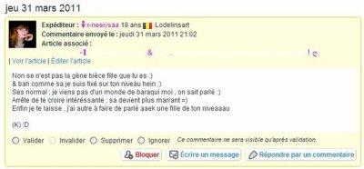 A LIRE & JUGER ;D On restera un groupe aimé par tout le monde les filles :D & Si tu touche a une pote , t'es morte !!!