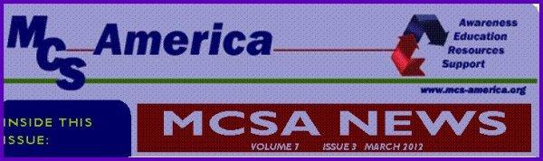 Hypersensibilité Chimique Multiple AMERICA