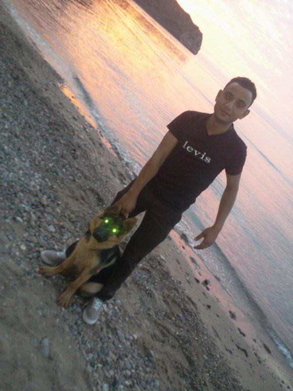toujour moi avec mon chien
