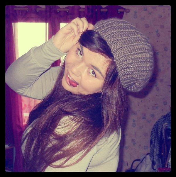 J'aime mon bonnet :)
