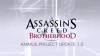 Assassin's Creed Brotherhood : Animus Project Update 1.0