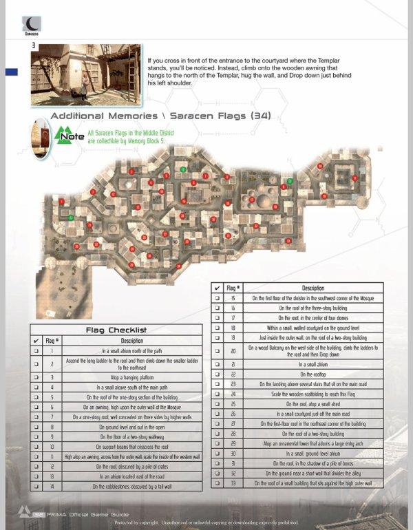 Assassin's Creed : Drapeaux et Templiers - Damas quartier Moyen