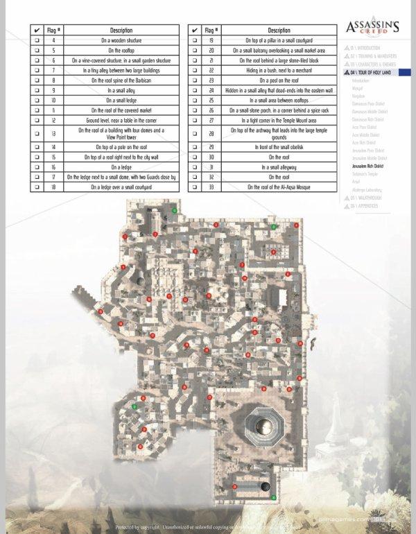 Assassin's Creed : Drapeaux et Templiers - Jérusalem quartier Riche